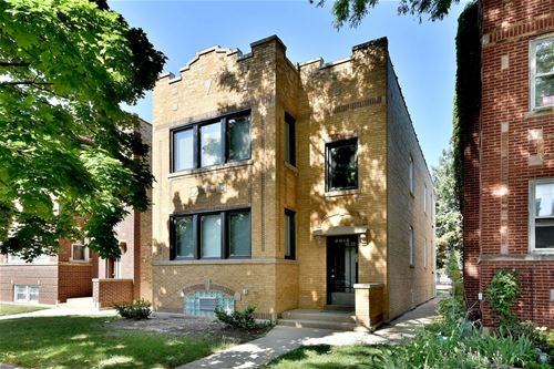 3616 N Troy, Chicago, IL 60618 Irving Park