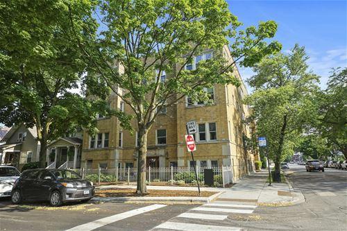3355 W Belle Plaine Unit 3, Chicago, IL 60618 Irving Park