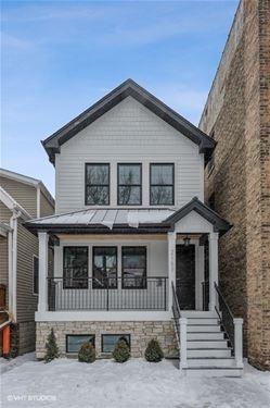 2903 N Seeley, Chicago, IL 60618 Hamlin Park