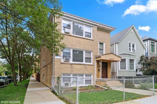 4300 N Mozart, Chicago, IL 60618 Irving Park
