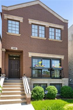 1643 N Honore, Chicago, IL 60622 Bucktown