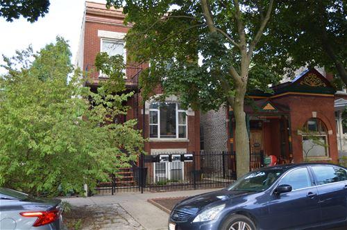 1645 N Bell, Chicago, IL 60647 Bucktown