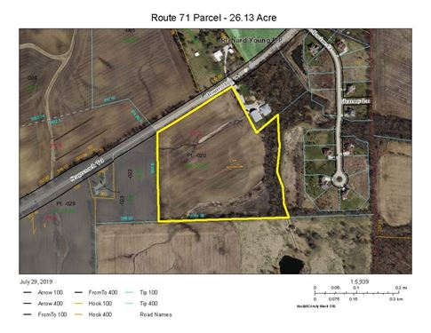 26.13 Acre State Route 71, Yorkville, IL 60560