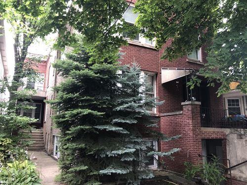 2422 W Warner, Chicago, IL 60618 Northcenter