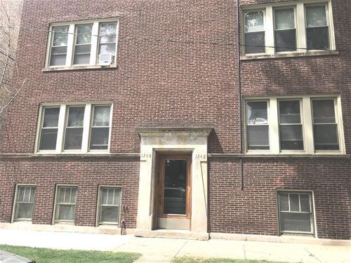 1244 W Rosedale Unit 1, Chicago, IL 60660 Edgewater