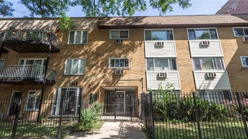 1508 W Pratt Unit 2A, Chicago, IL 60626 Rogers Park