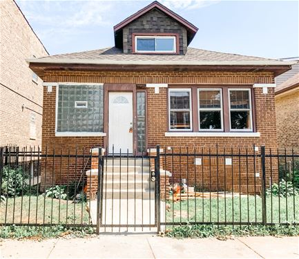 1629 N Keating, Chicago, IL 60639 Hermosa
