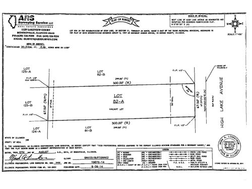 Lot 1 High Lake, West Chicago, IL 60185
