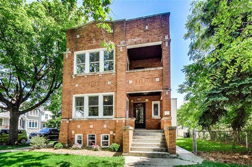 3457 N Avers, Chicago, IL 60618 Avondale