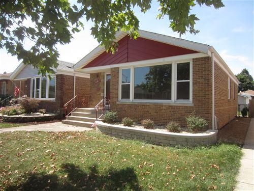 5124 S Rutherford, Chicago, IL 60638 Garfield Ridge