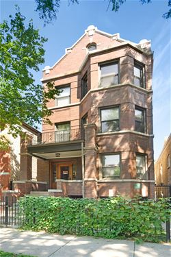 1133 N Winchester, Chicago, IL 60622 East Village