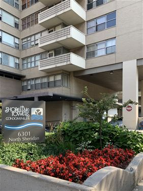 6301 N Sheridan Unit 19D, Chicago, IL 60660 Edgewater