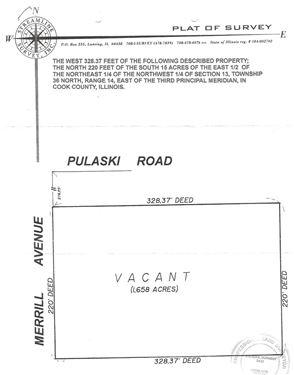 15435 Merrill, Calumet City, IL 60409
