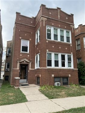5830 N Campbell, Chicago, IL 60659 West Ridge