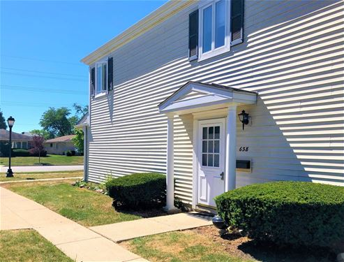 638 E Old Willow Unit D, Prospect Heights, IL 60070