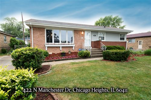 422 N Manchester, Chicago Heights, IL 60411