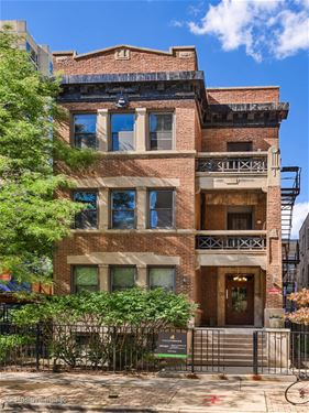 454 W Wrightwood Unit 2B, Chicago, IL 60614 Lincoln Park