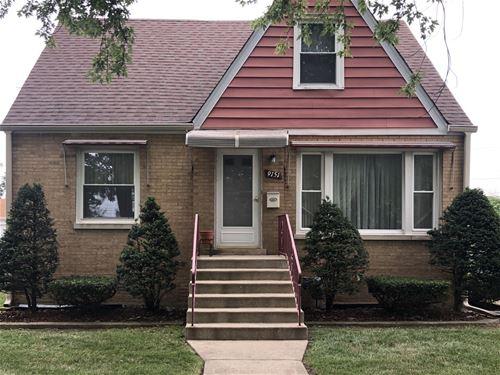9151 S Springfield, Evergreen Park, IL 60805