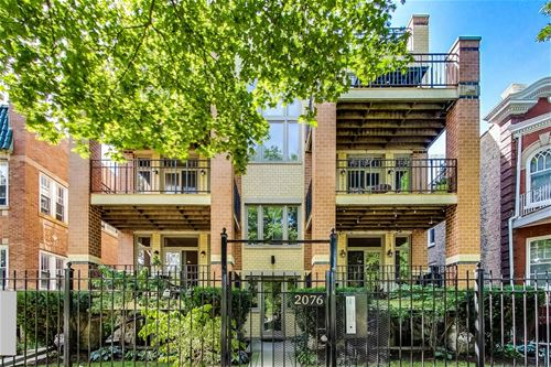 2076 N Humboldt Unit 4W, Chicago, IL 60647 Logan Square