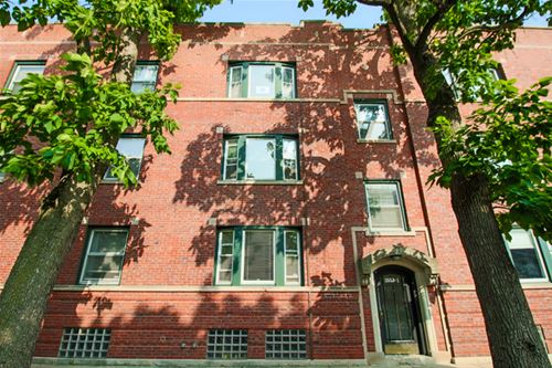 3551 N Hamilton Unit 3, Chicago, IL 60618 Roscoe Village