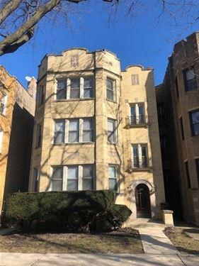 6221 N Talman Unit 1, Chicago, IL 60659 West Ridge
