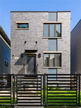 3502 W Evergreen, Chicago, IL 60651 Humboldt Park