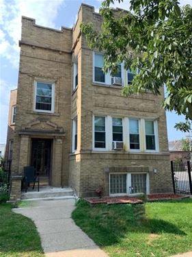 4934 N Claremont, Chicago, IL 60625 Ravenswood