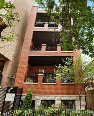 316 W Evergreen Unit B, Chicago, IL 60610 Old Town