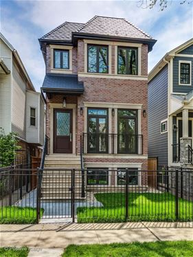 3534 N Hoyne, Chicago, IL 60618 Roscoe Village