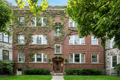 1449 W Belle Plaine Unit 2W, Chicago, IL 60613 Graceland West