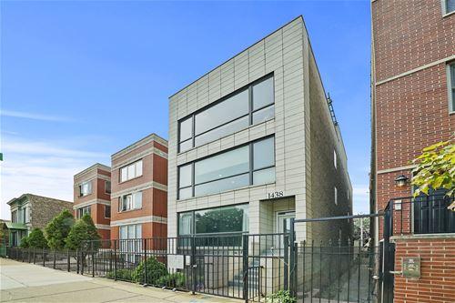 1438 N Wood Unit 1, Chicago, IL 60622 Wicker Park