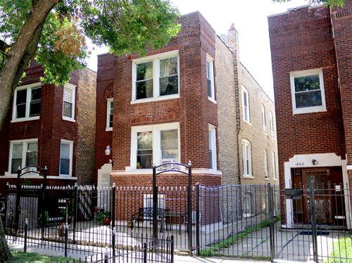 1040 N Trumbull, Chicago, IL 60651