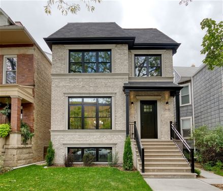 3908 N Bell, Chicago, IL 60618 Northcenter