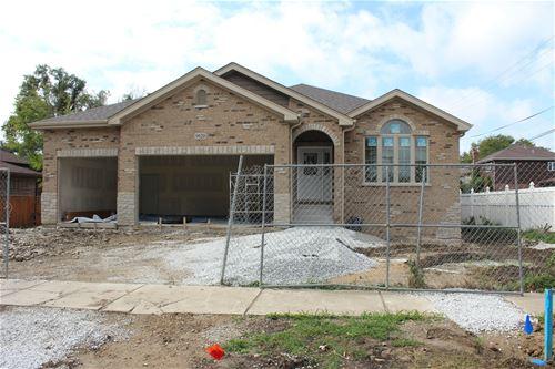9920 S Mcvicker, Oak Lawn, IL 60453