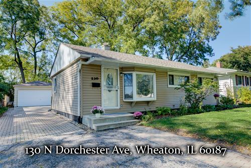 130 N Dorchester, Wheaton, IL 60187
