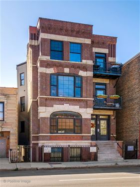 1421 W Augusta Unit 1F, Chicago, IL 60642 Noble Square