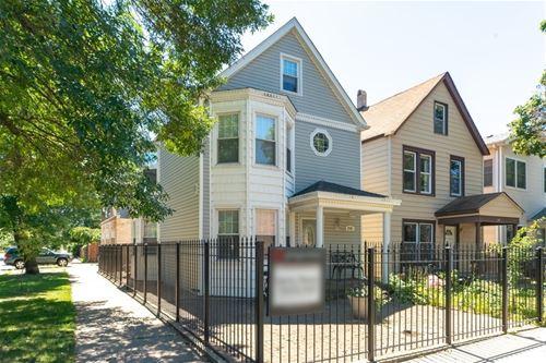 3701 W Palmer, Chicago, IL 60647 Logan Square