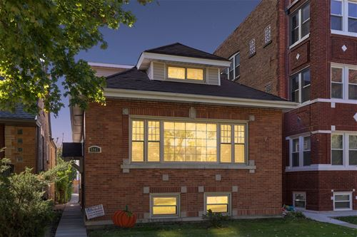 5447 W Sunnyside, Chicago, IL 60630 Jefferson Park
