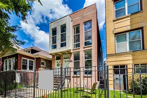 2447 N Talman Unit 1, Chicago, IL 60647 Logan Square