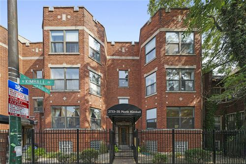 2733 N Kimball Unit 8, Chicago, IL 60647 Logan Square