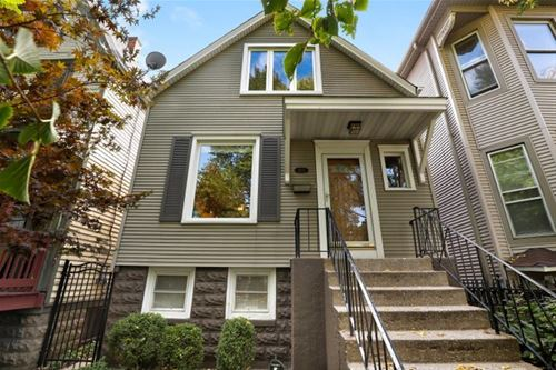 3437 W Schubert, Chicago, IL 60647 Logan Square