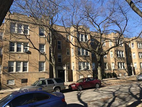 6940 N Bell Unit 1, Chicago, IL 60645 West Ridge