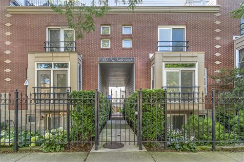 3618 N Lakewood Unit F, Chicago, IL 60613 Lakeview