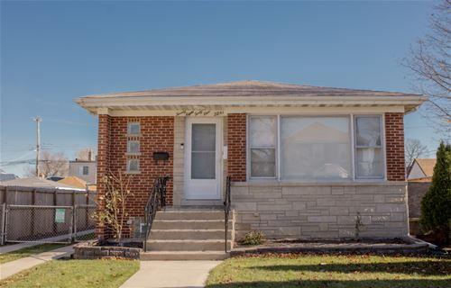 2841 N Neva, Chicago, IL 60634 Montclare