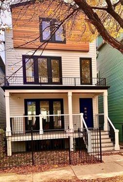 1821 N Francisco, Chicago, IL 60647 Logan Square