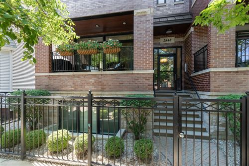 2848 N Sheffield Unit 1S, Chicago, IL 60657 Lakeview
