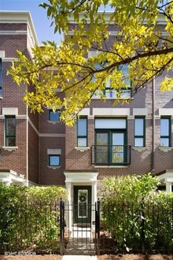 1221 N Sedgwick, Chicago, IL 60610 Old Town