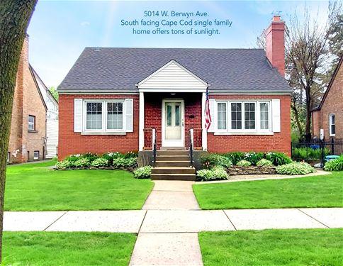 5014 W Berwyn, Chicago, IL 60630 Forest Glen
