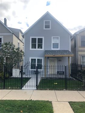 3711 W Palmer, Chicago, IL 60647 Logan Square