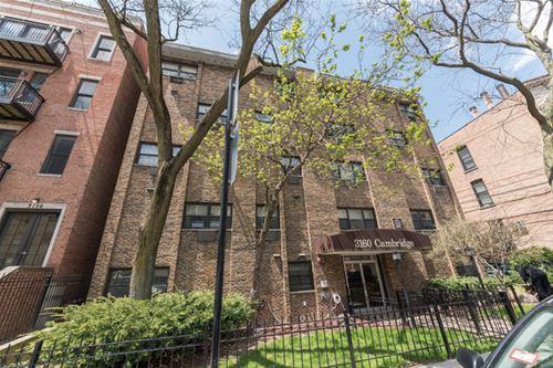 3160 N Cambridge Unit 208, Chicago, IL 60657 Lakeview